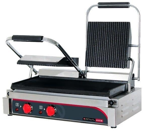 Ribbed Sandwich Press, Anvil TS3001, Refrigeration system, commercial catering equipment