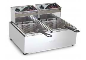 roband f25 fryer benchtop equipment