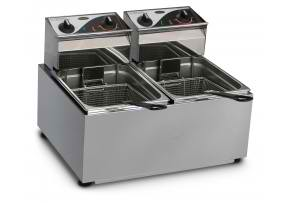 roband f28 fryer benchtop equipment