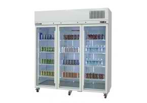 hps3gdss williams upright refrigerator 3 Doors
