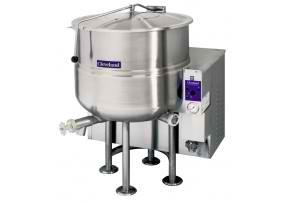 kgl 25 cleveland stationary kettle bratt/boiling pan