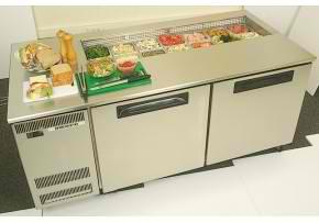 pg500prep skope sandwich preparation counter