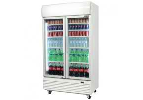 gm1000l led eco bromic upright refrigerator 2 Doors