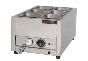 woodson wbms11 bain maries benchtop equipment