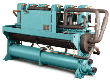 chilled water systems, Water Cooled Chillers