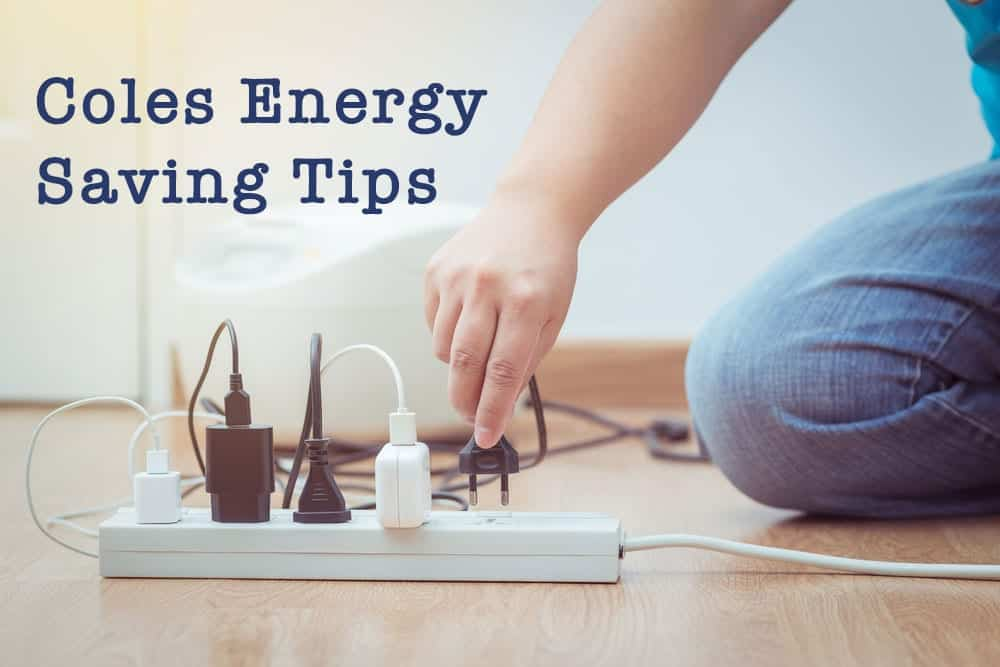 energy saving tips coles
