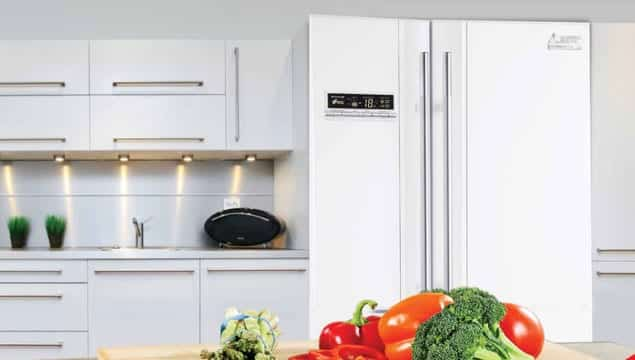 french door, Mitsubishi Electric REFRIGERATORS