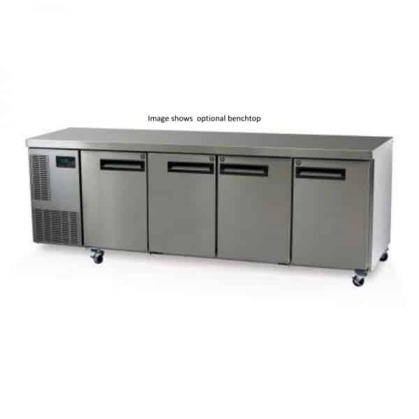 PG550HC - Skope 4 Solid Door 1/1 Underbench GN Fridge