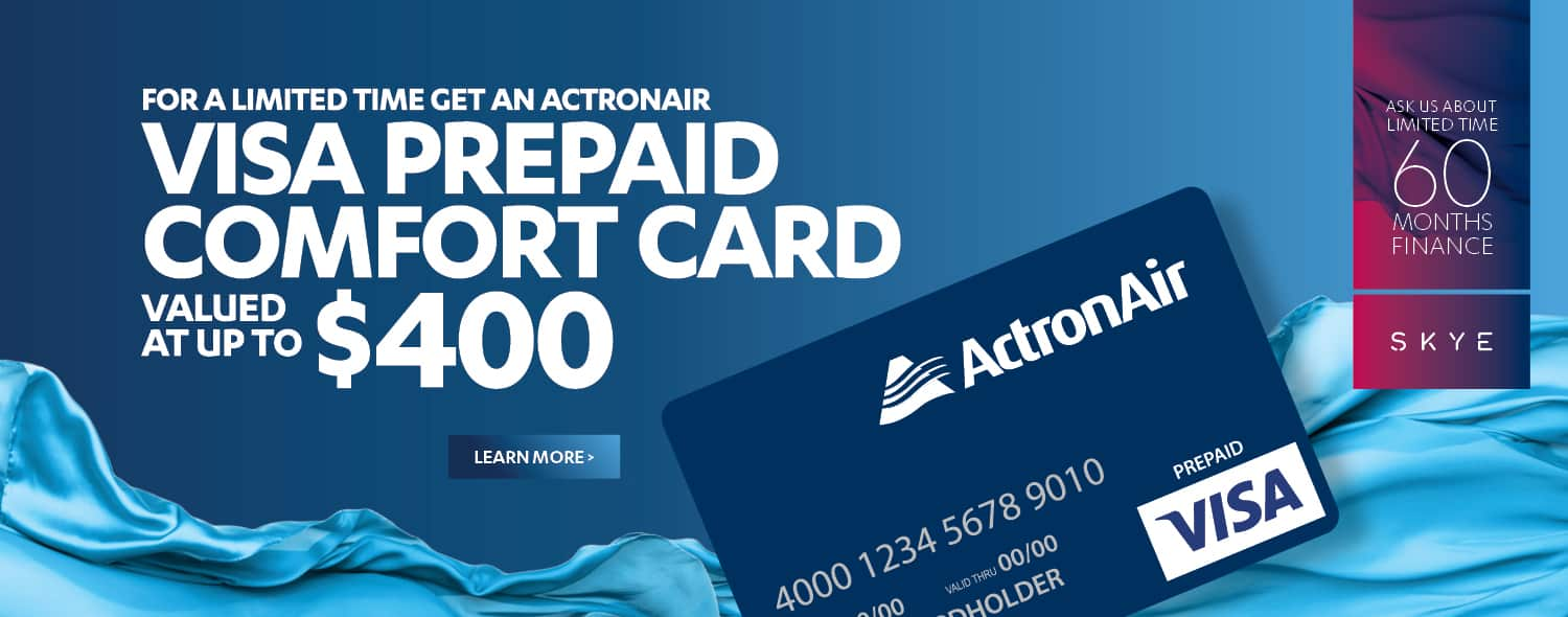 Actron Air Cash Back Offer