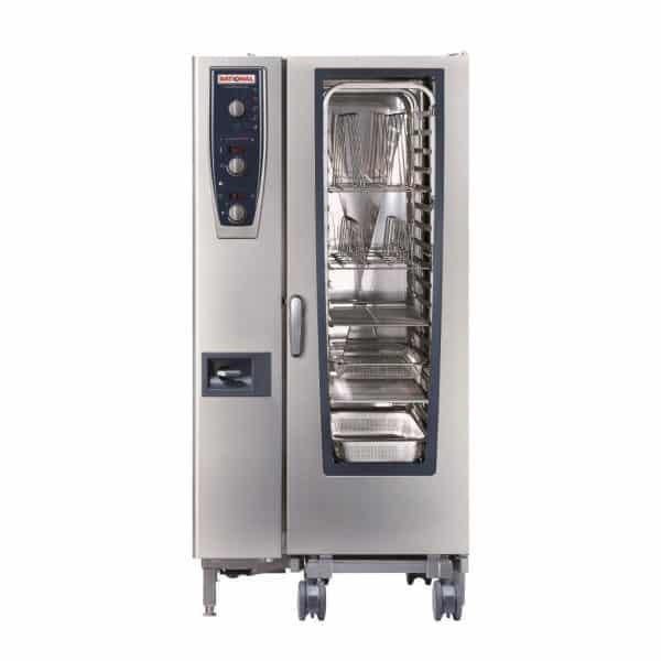 CMP201G-NG Rational CombiMaster Plus, 20 Tray Natural Gas Oven