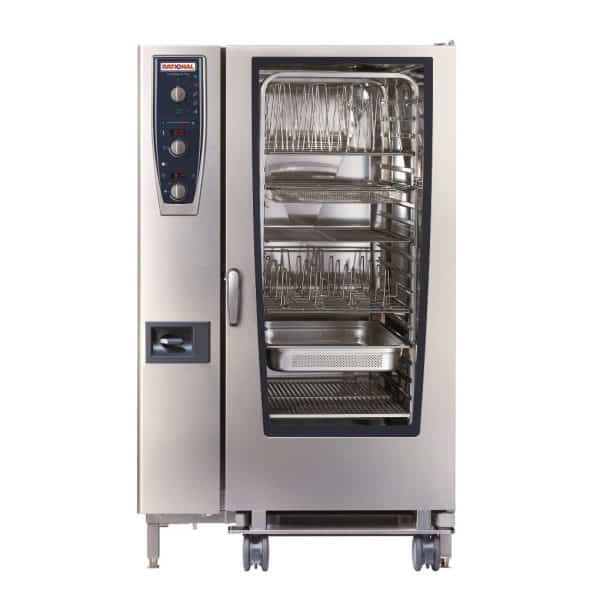 CMP202G-NG Rational CombiMaster Plus, 40 Tray Natural Gas Oven