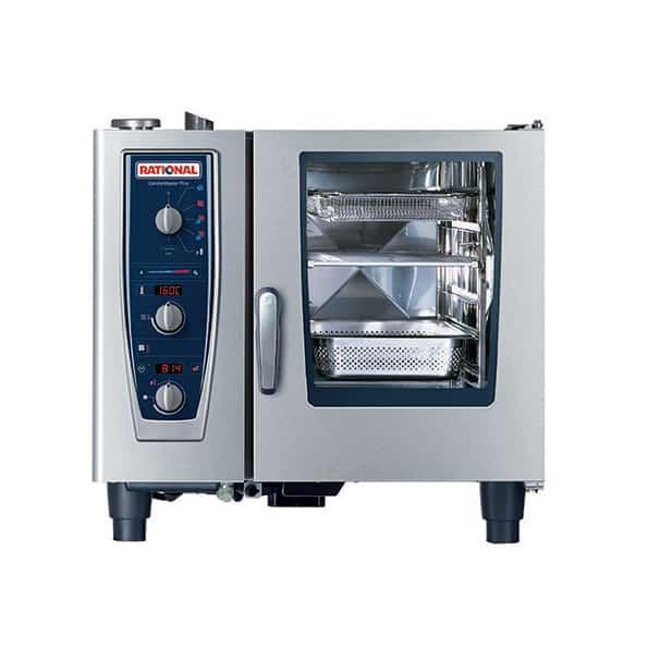 CMP61G-NG Rational CombiMaster Plus, 6 Tray Natural Gas Oven