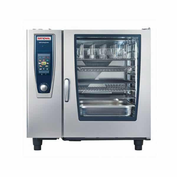 SCC5S102G-NG Rational 20 x 1/1 GN Tray Natural Gas Combi Oven