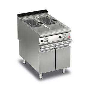 Baron Q90FRI/G610 10+10L Split Pot Gas Deep Fryer