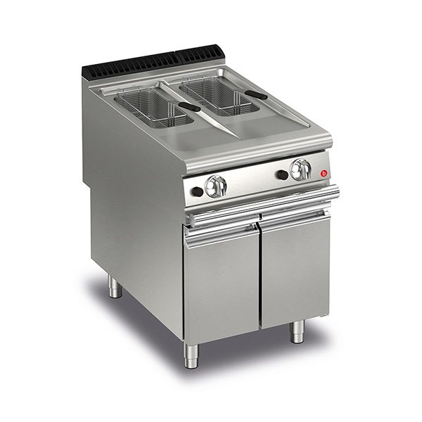Q90FRI/G610 Baron 10+10L Split Pot Gas Deep Fryer