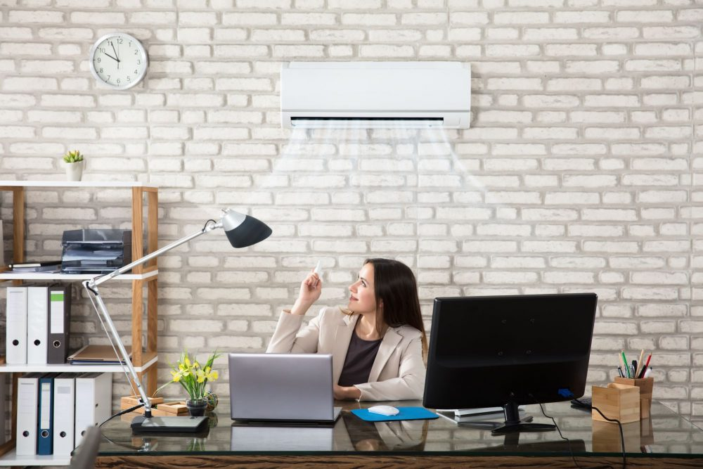 air conditioning in the office